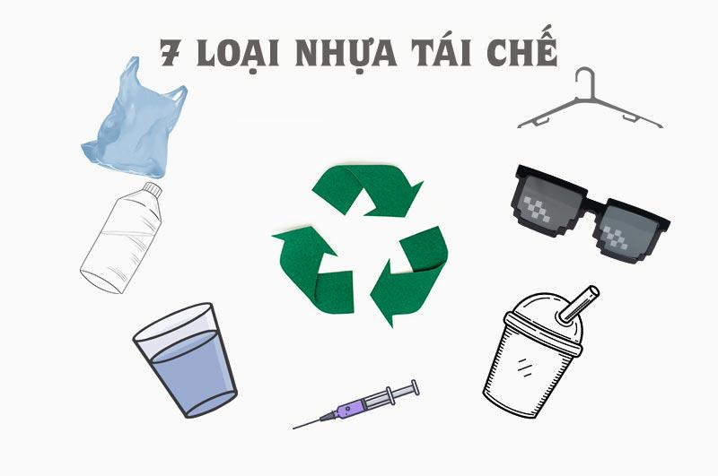 7 loại nhựa tái chế